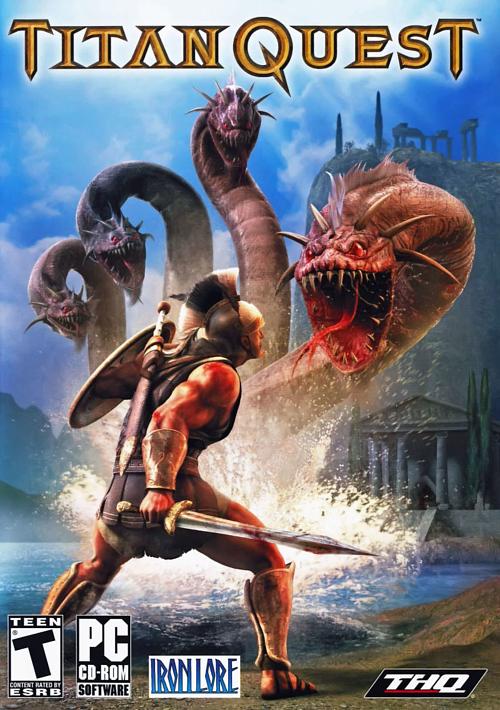 حصرياً اللعبة الشيقة Titan Quest